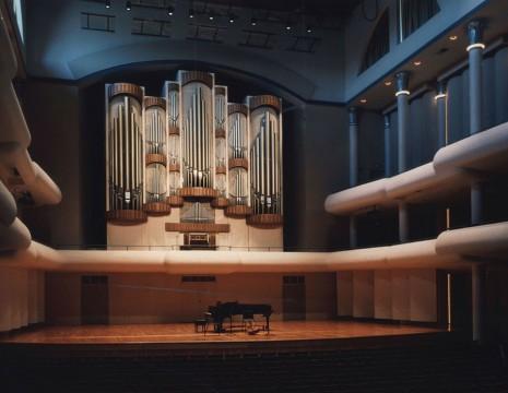 interior of Moody Concert Hall